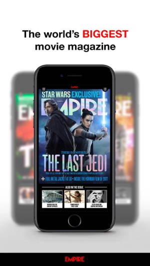 empire magazine usa edition on the app store. Black Bedroom Furniture Sets. Home Design Ideas