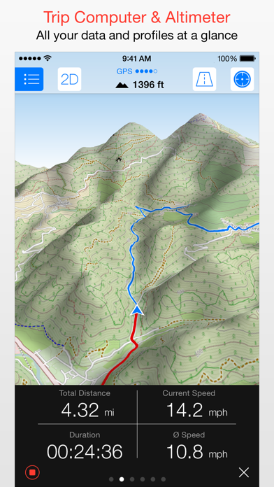 Maps 3D PRO - Outdoor GPS for Windows