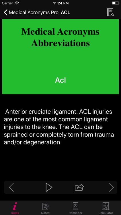 Medical Acronyms Pro screenshot-3