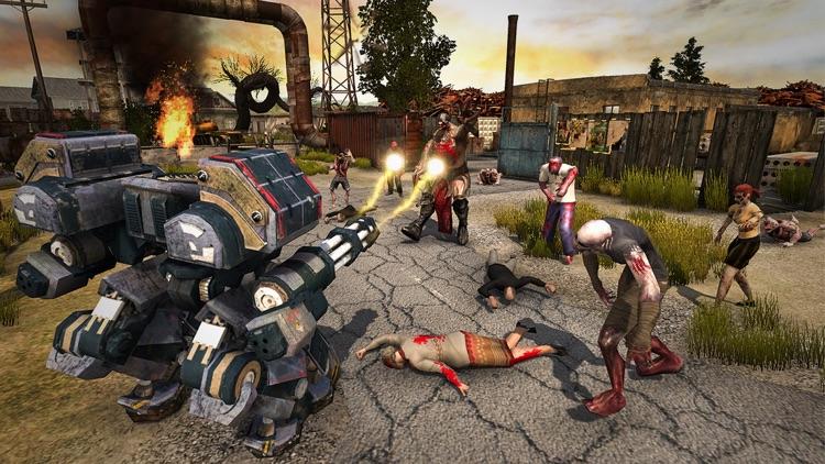 Robot Recall Zombie War Z