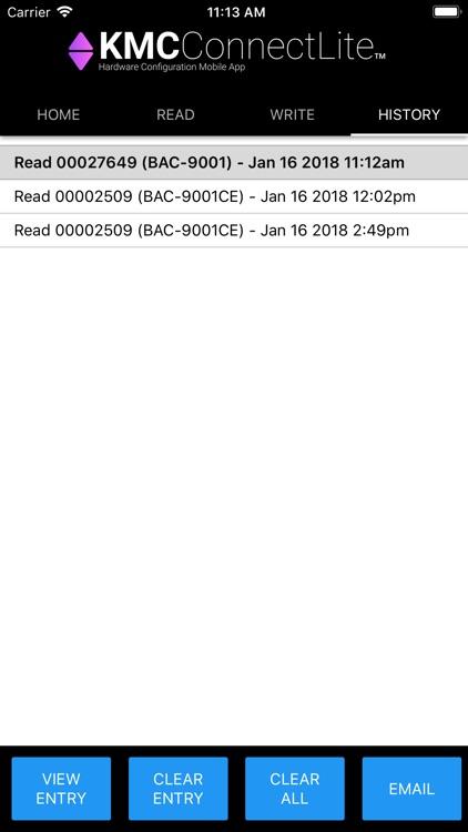 KMC Connect Lite screenshot-3