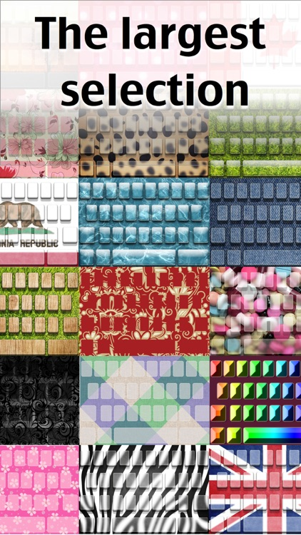 Custom Color Keyboards