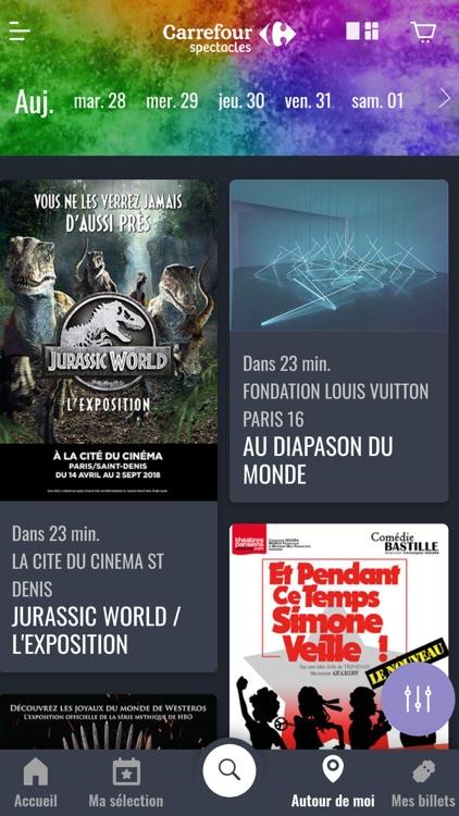 Carrefour spectacles screenshot-6