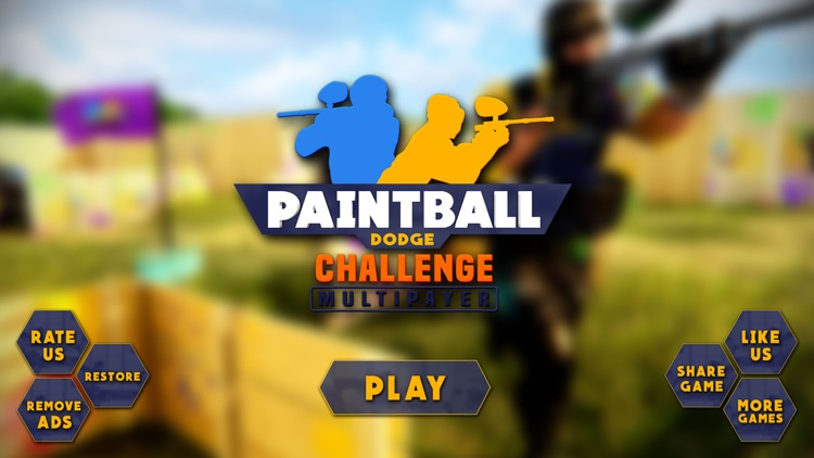 Paintball Dodge Challenge PvP