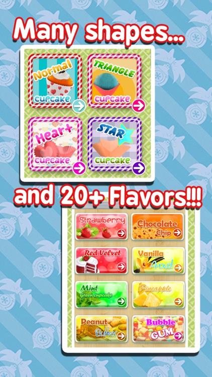Cupcake Maker - Cooking Games! screenshot-3