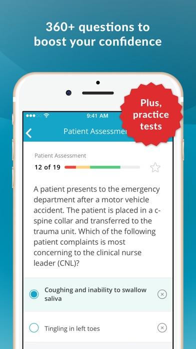 CNL: Clinical Nurse Leader Q&A Screenshot on iOS