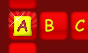 Alphabet Learning Word Builder - English