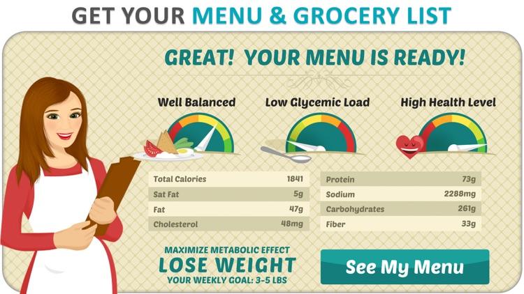 DietWiz Meal Planner & Recipes screenshot-3