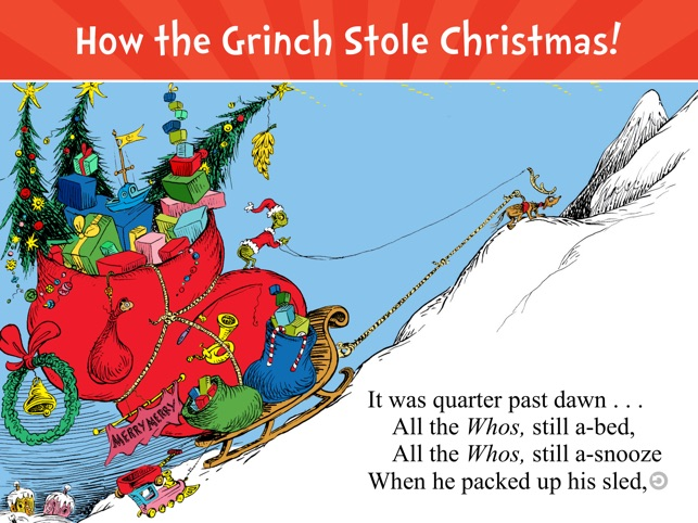 how the grinch stole christmas on the app store - How The Grinch Stole Christmas Pdf