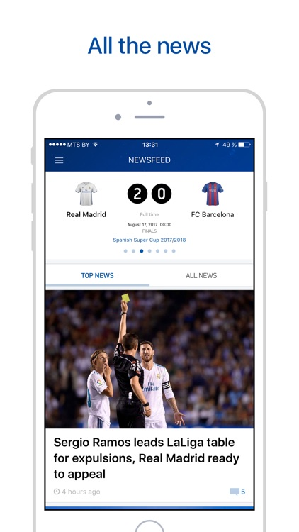Real Live — Scores & Results