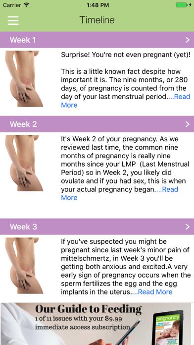 Your Pregnancy by Week screenshot three