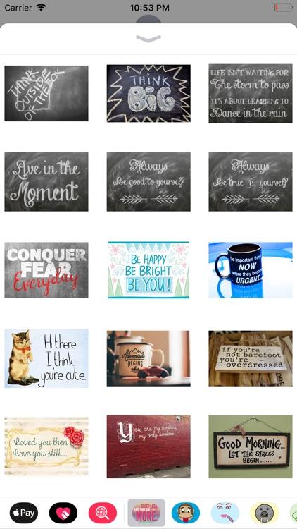 Quotable Stickers screenshot-3