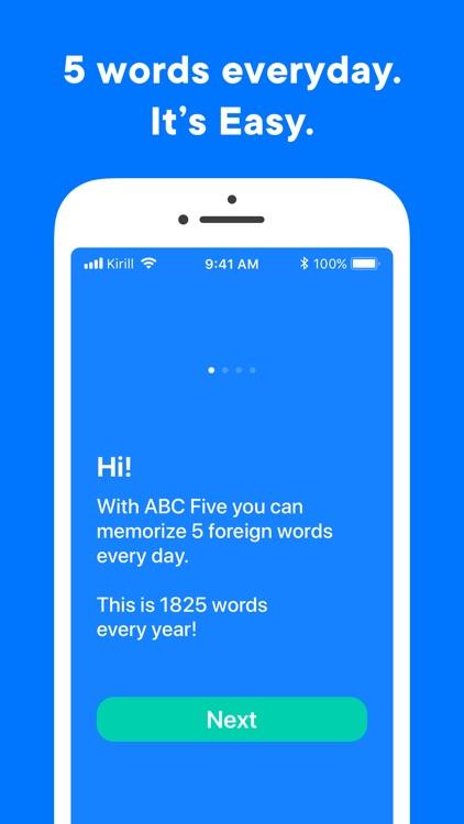 ABC Five — learn language