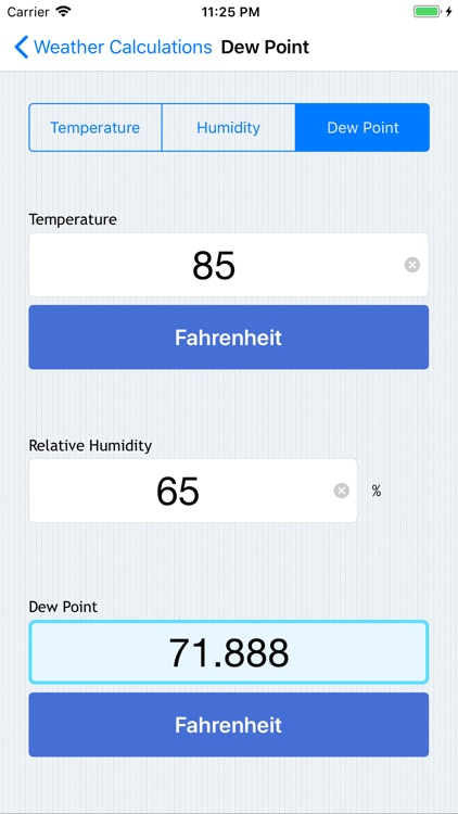 Weather Calculations screenshot-3