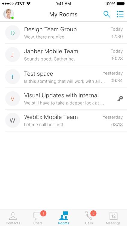 Cisco Jabber screenshot-6