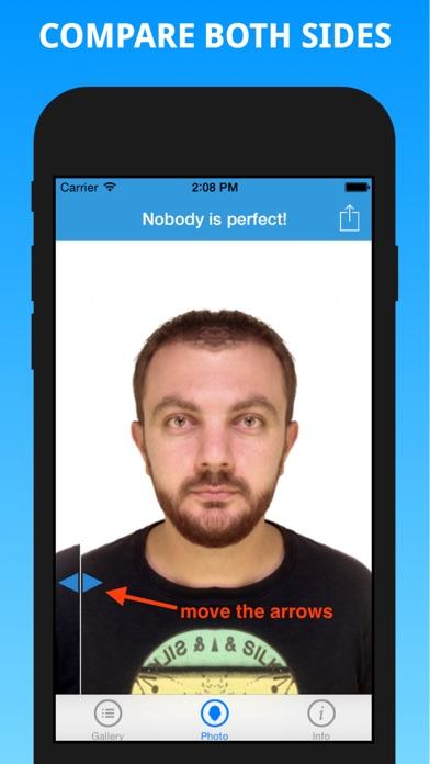 Test di Simmetria del viso