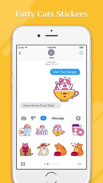 Fat Cat Emojis screenshot-3