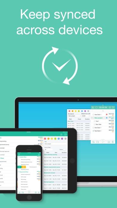 Chrono Plus – Time Tracker Screenshots