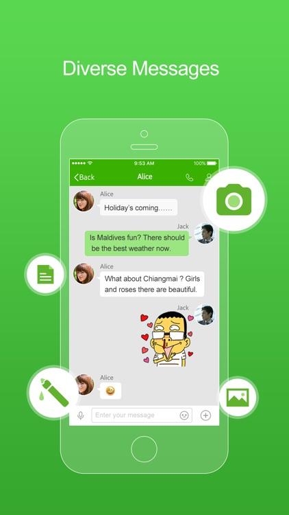 FreePP-Call Chat Message screenshot-1