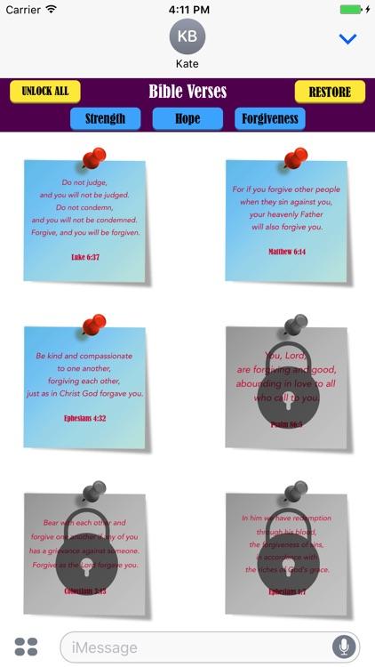 Bible Verses Sticky Notes screenshot-3