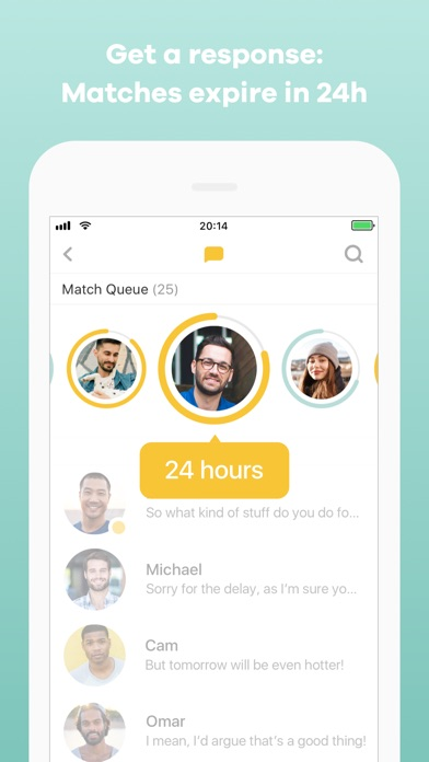 Screenshot of Bumble - Meet New People App