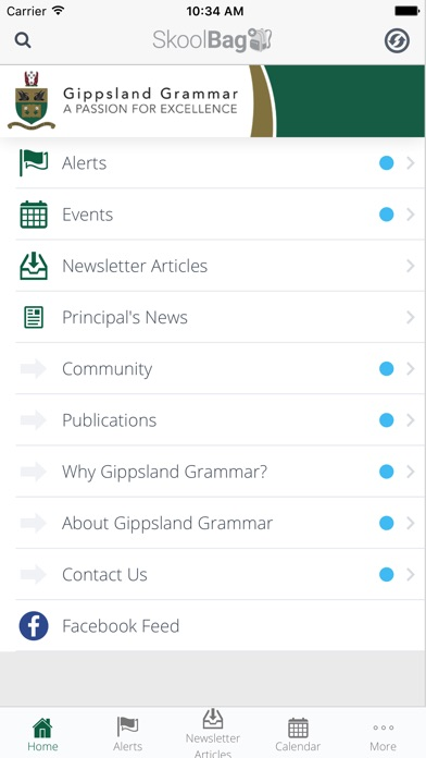 Gippsland Grammar - Skoolbag Скриншоты3