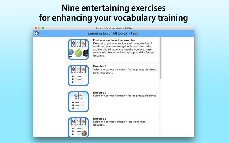 Spanish Vocabulary Builder screenshot 4