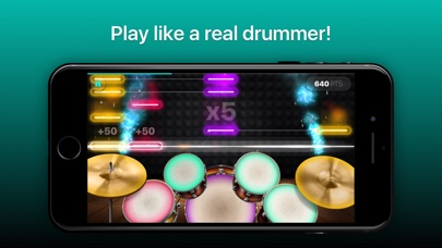 Drums - real drum set games for Windows