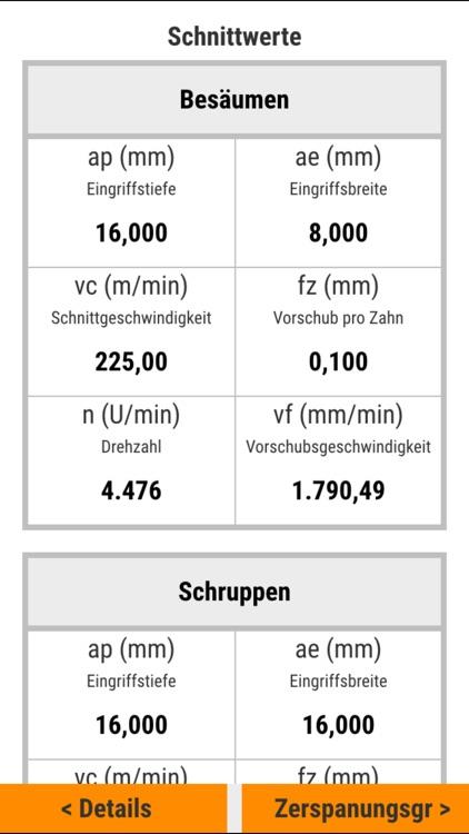 INOCUT – Cutting-Data screenshot-4