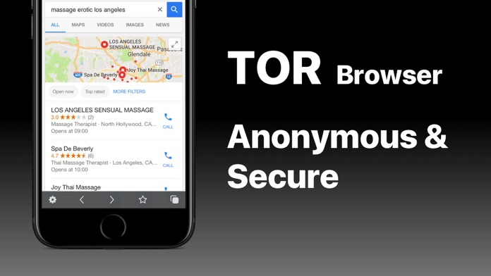 VPN + TOR Browser Private Web Screenshot