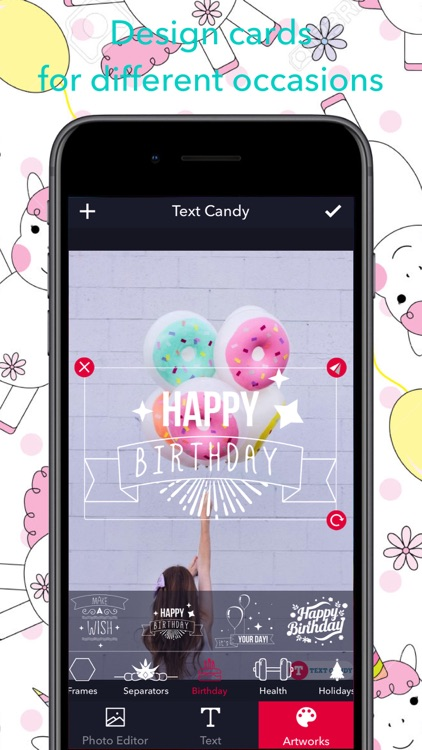 Text Candy - Text on Photo screenshot-0