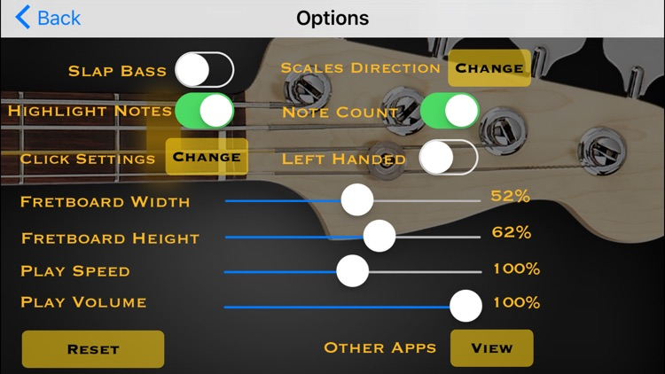 Bass Guitar Tutor Pro screenshot-4