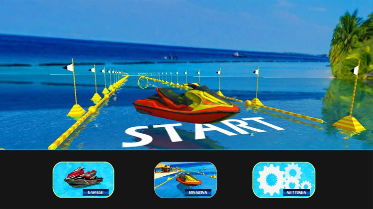 Water Surfing Speed Boat Racer screenshot-4
