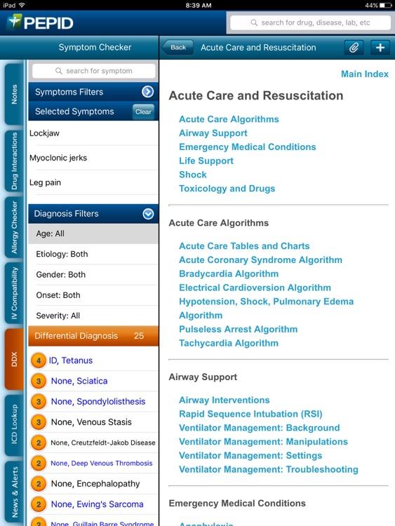 PEPID® for iPad screenshot-4