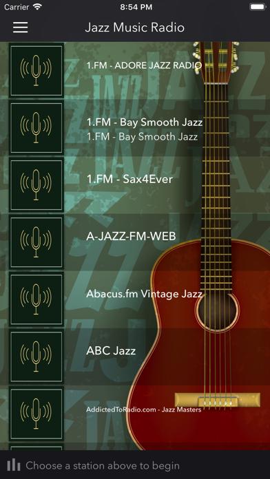 Jazz Radio screenshot one