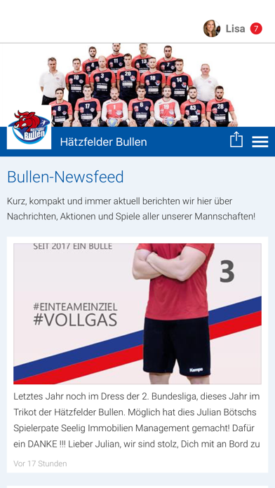 Hätzfelder Bullen screenshot 1