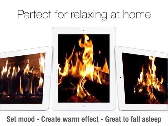 Screenshot #2 for Fireplace Live HD