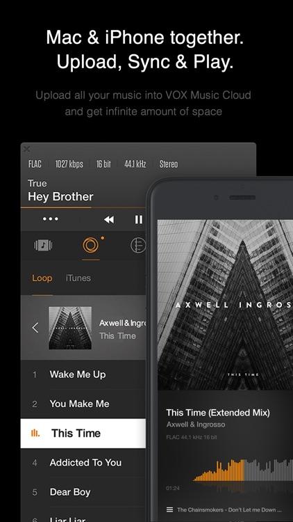 VOX: MP3 & FLAC Music Player screenshot-4