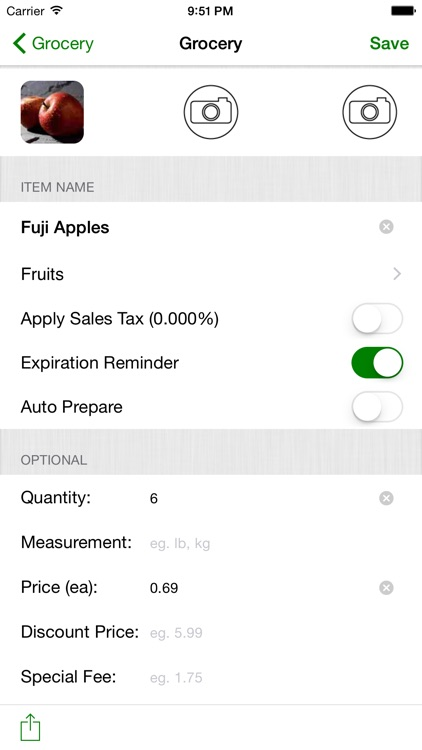 Smart Shopping List A LA CARTE screenshot-3