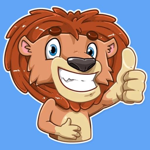 King Lion STiK Sticker Pack