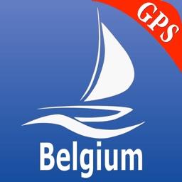 Belgium GPS Nautical Charts