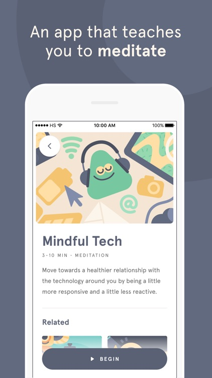 Headspace: Meditation screenshot-0