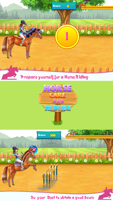 Horse Care and Riding Screenshot