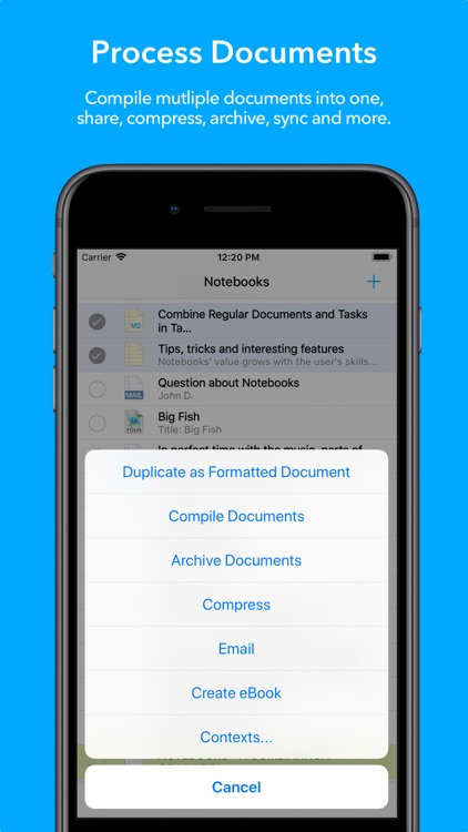 Notebooks for iPhone screenshot-5
