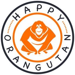 Happy Orangutan - palm oil