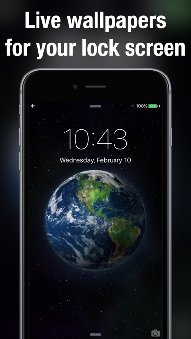 Finally, Live Wallpaper on your iPhone! 100+ beautifully designed moving wallpapers to choose from. Live wallpaper for Lock Screen only works on iPhone 6s, ...