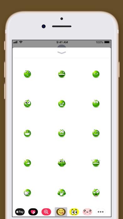 Smiley Face Emoji Stickers screenshot four