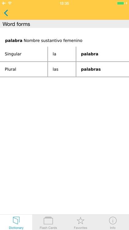 German Spanish XL Dictionary screenshot-4