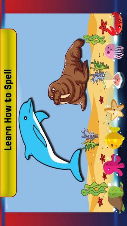 Preschool learning sea fish screenshot-4
