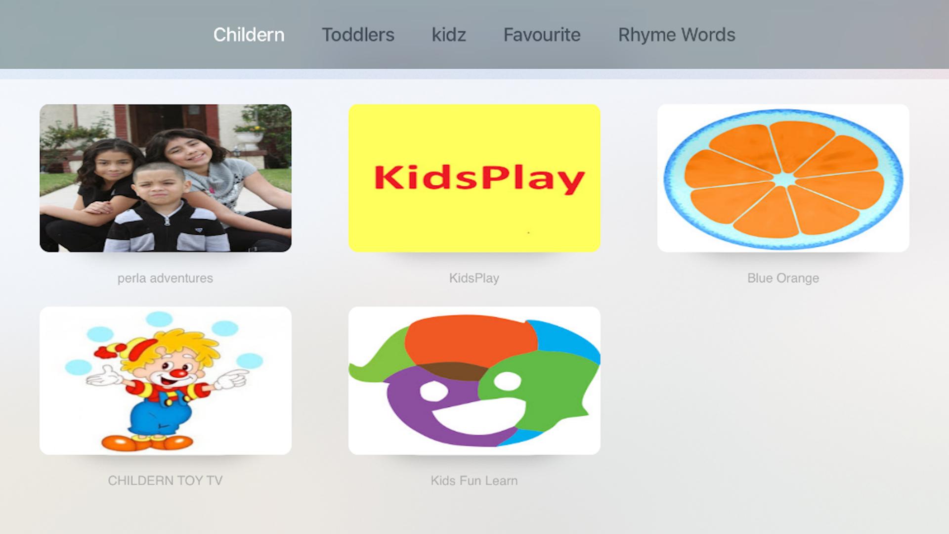 Kids Tube -Learn and Play screenshot 1